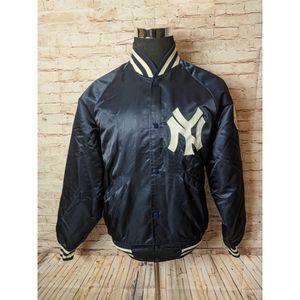 Vintage Starter NY Yankees Satin Bomber Jacket